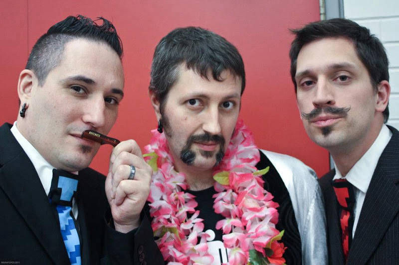 Wiggler!?! and the Tiny Humans bring Movember to the 2011 Hamilton Music Awards Gala